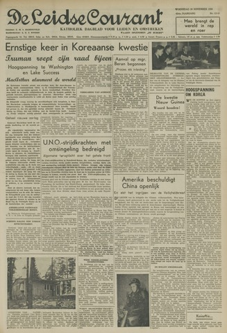Leidse Courant 1950-11-29