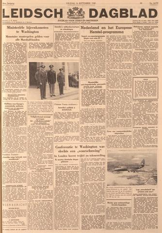 Leidsch Dagblad 1949-09-16