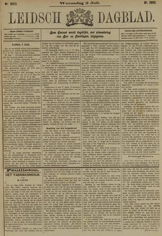 Leidsch Dagblad 1890-07-02