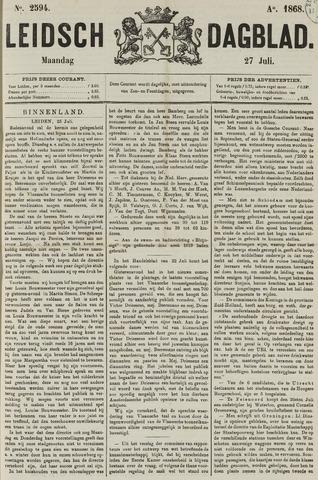 Leidsch Dagblad 1868-07-27