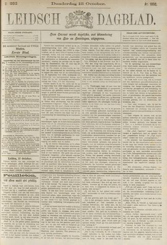 Leidsch Dagblad 1892-10-13