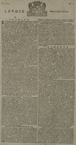Leydse Courant 1734-01-04