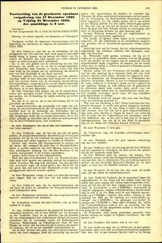 Handelingen van de Raad 1928-12-21