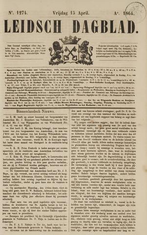 Leidsch Dagblad 1864-04-15