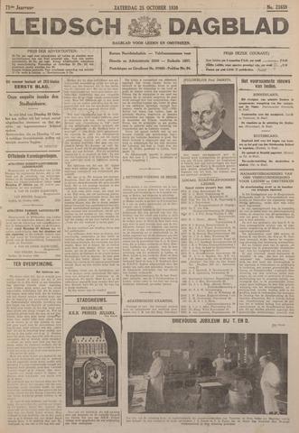 Leidsch Dagblad 1930-10-25