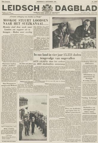 Leidsch Dagblad 1956-09-05