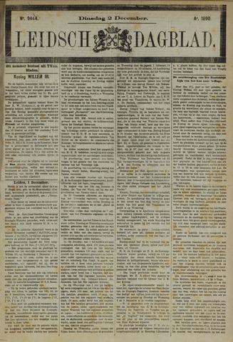 Leidsch Dagblad 1890-12-02