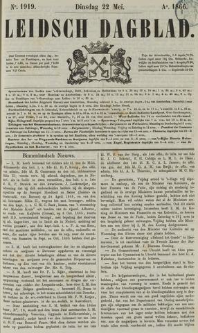 Leidsch Dagblad 1866-05-22