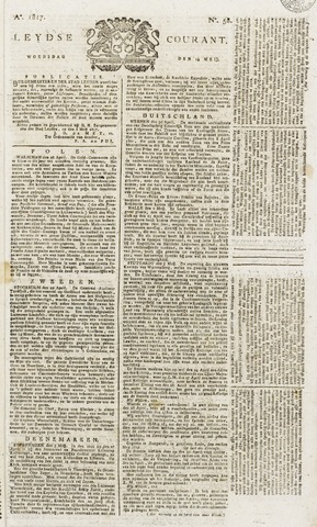 Leydse Courant 1817-05-14