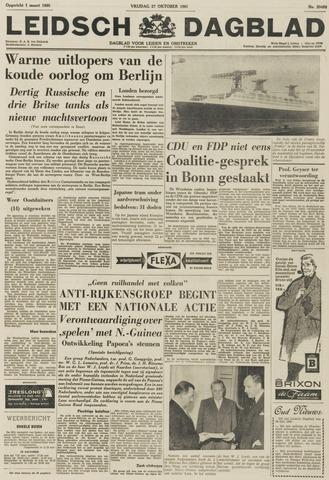 Leidsch Dagblad 1961-10-27