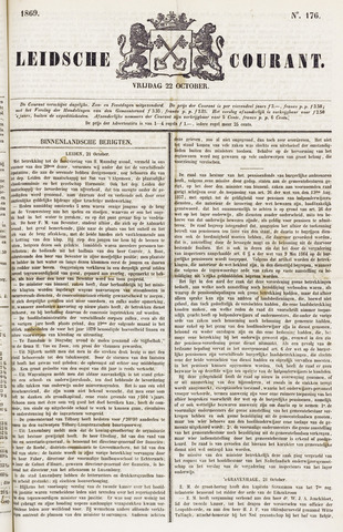 Leydse Courant 1869-10-22