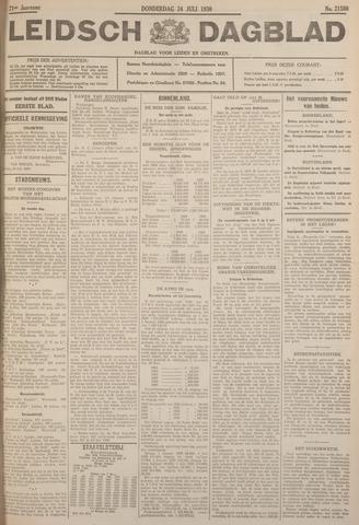 Leidsch Dagblad 1930-07-24