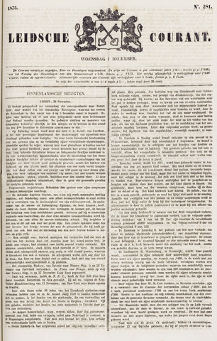 Leydse Courant 1875-12-01
