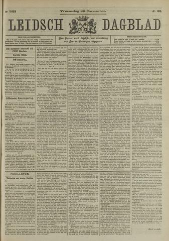 Leidsch Dagblad 1911-11-29