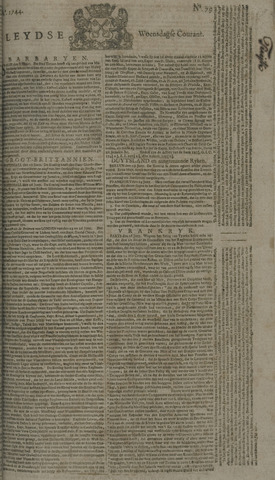 Leydse Courant 1744-07-01