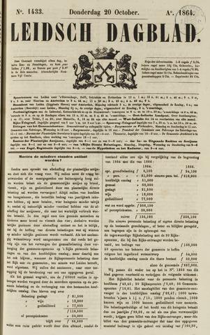 Leidsch Dagblad 1864-10-20