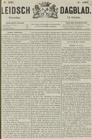 Leidsch Dagblad 1868-10-14
