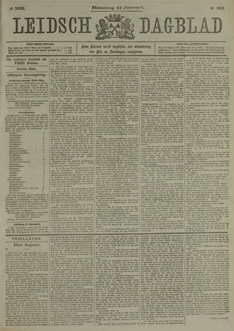 Leidsch Dagblad 1909-01-11
