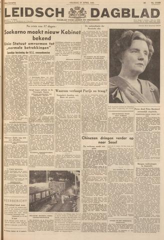 Leidsch Dagblad 1951-04-27