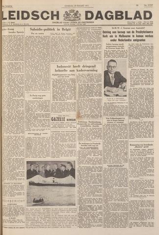 Leidsch Dagblad 1951-03-20