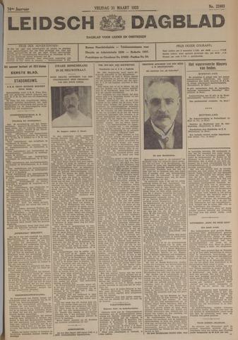 Leidsch Dagblad 1933-03-31
