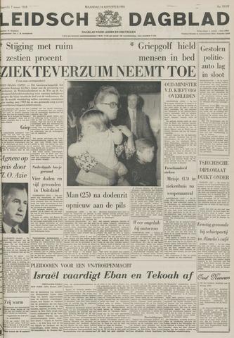 Leidsch Dagblad 1970-08-24