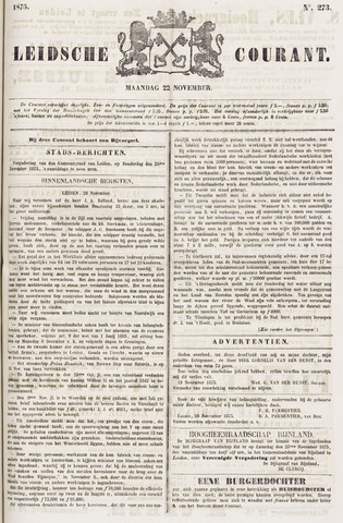 Leydse Courant 1875-11-22