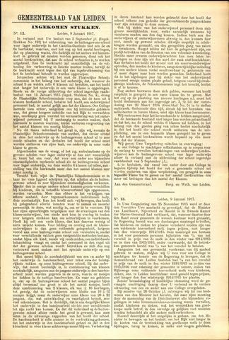 Handelingen van de Raad 1917-01-09