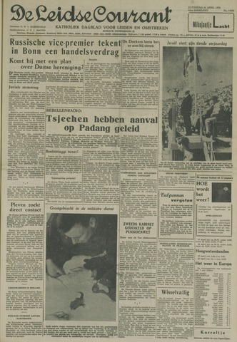 Leidse Courant 1958-04-26