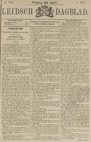 Leidsch Dagblad 1885-04-24
