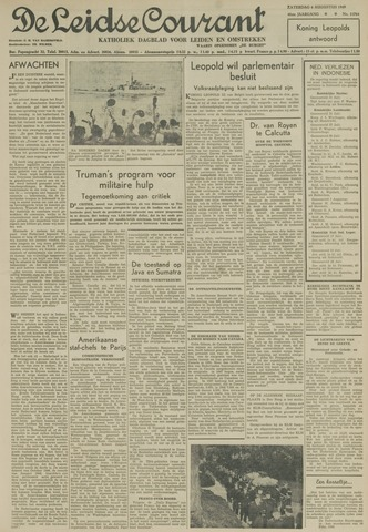 Leidse Courant 1949-08-06