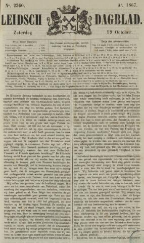 Leidsch Dagblad 1867-10-19