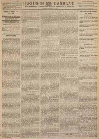 Leidsch Dagblad 1923-02-14