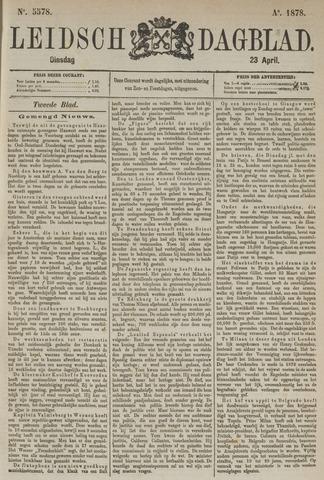 Leidsch Dagblad 1878-04-23