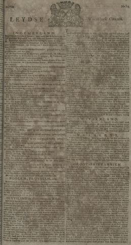 Leydse Courant 1729-02-02
