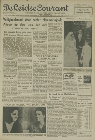 Leidse Courant 1960-08-22