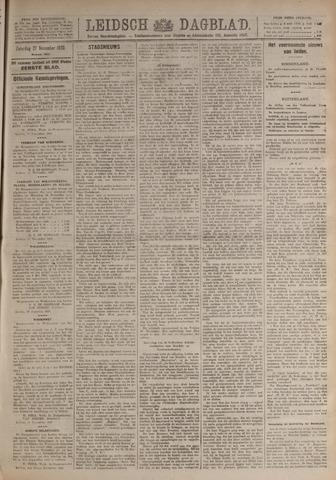 Leidsch Dagblad 1920-11-27