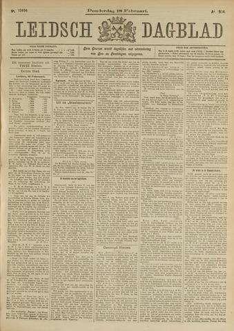 Leidsch Dagblad 1904-02-18