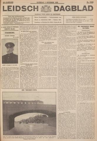 Leidsch Dagblad 1928-11-03