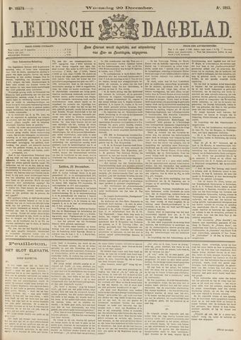 Leidsch Dagblad 1893-12-20