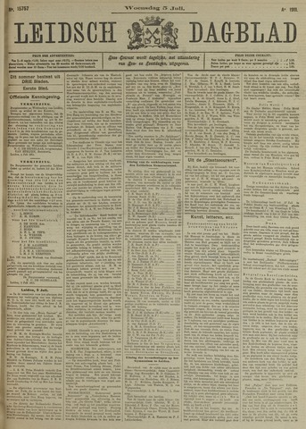 Leidsch Dagblad 1911-07-05