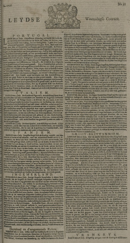 Leydse Courant 1726-07-31
