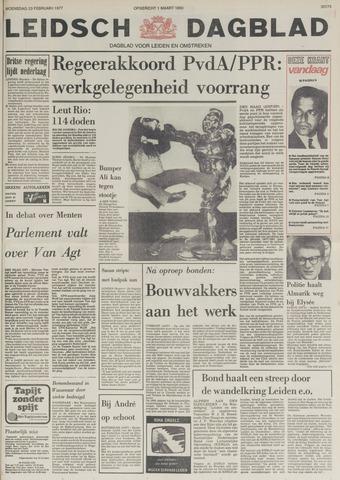 Leidsch Dagblad 1977-02-23