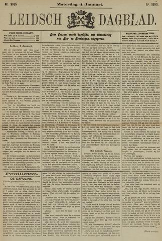 Leidsch Dagblad 1890-01-04