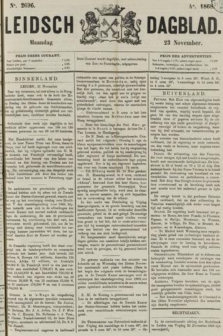 Leidsch Dagblad 1868-11-23