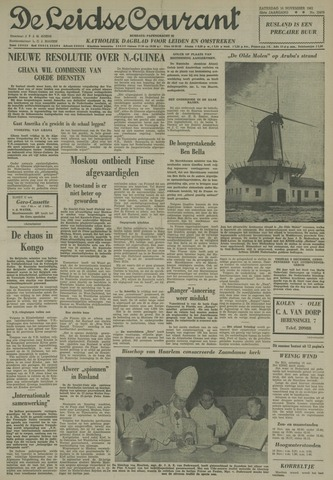 Leidse Courant 1961-11-18