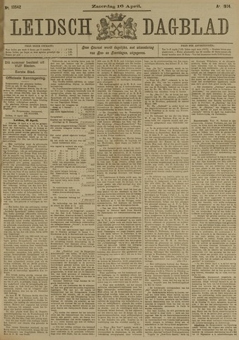 Leidsch Dagblad 1904-04-16