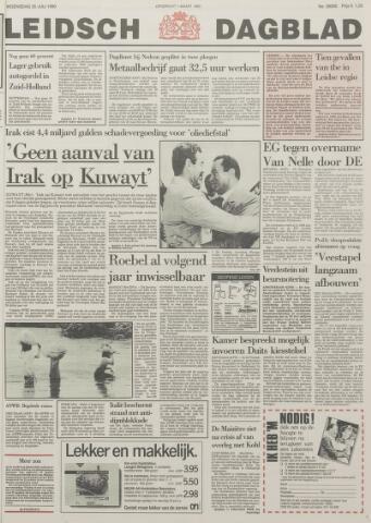 Leidsch Dagblad 1990-07-25