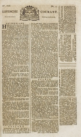 Leydse Courant 1826-01-25
