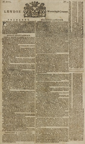 Leydse Courant 1770-01-03